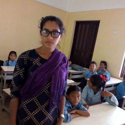Den nye lærer Kalpana